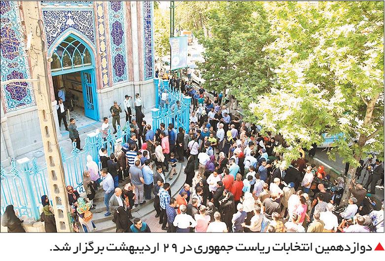 تجارت فردا-  دوازدهمین انتخابات ریاست جمهوری در 29 اردیبهشت برگزار شد.