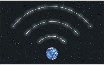 ماهواره و اینترنت
