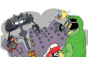 طوماری به نام آلودگی هوا