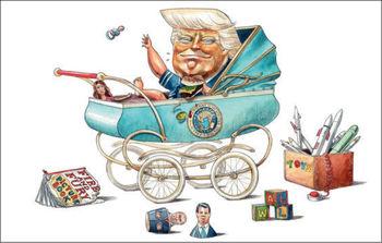 ریاست جمهوری یکساله دونالد ترامپ