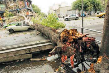 توفان در شهری که جایی برای شهروندان ندارد