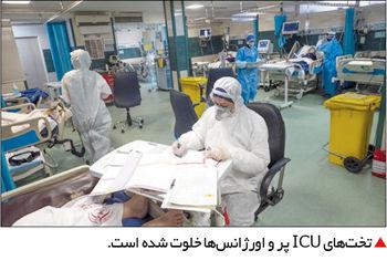 تختهای ICU پر شده است