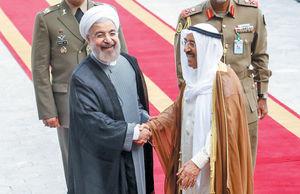 پیام امیر کویت از آن سوی آبها