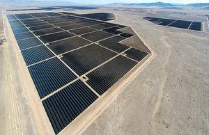 بزرگترین نیروگاه خورشیدی در جهان